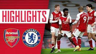 HIGHLIGHTS | Laca, Xhaka, Saka all score! | Arsenal vs Chelsea (3-1) | Premier League