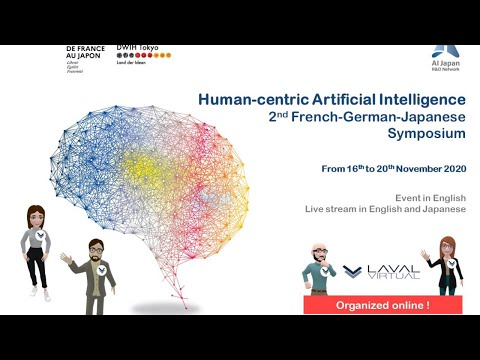 Human-centric Artificial Intelligence : 2nd French-German-Japanese Symposium – Day 2 – ENG VER