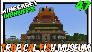 """Tropical Fish Museum"" [47] Minecraft Bedrock Infiniverse"