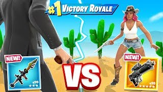 FIRST To SHOOT *WINS* (Fortnite)