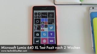 Microsoft Lumia 640 XĻ Test Fazit nach 2 Wochen
