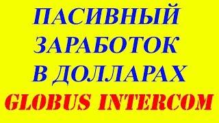 GLOBUS-INTER Секрет как увеличить заработок Вывод денег январь 2017