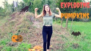 Exploding Pumpkins | 50CalVal Style