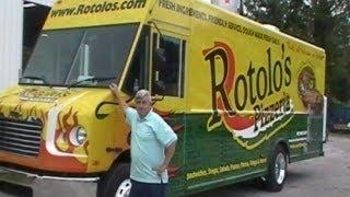 M&r Concessions Presents Rotolo's Pizza Truck