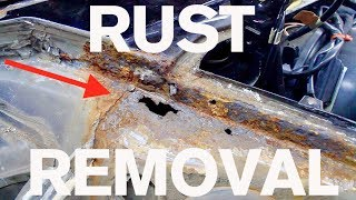 Step by Step Rust Removal: AMMO 964