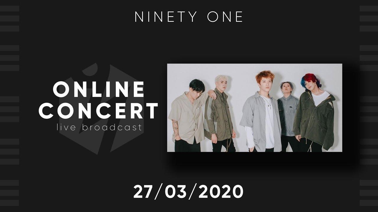 Ninety One / Online concert / 27/03/2020