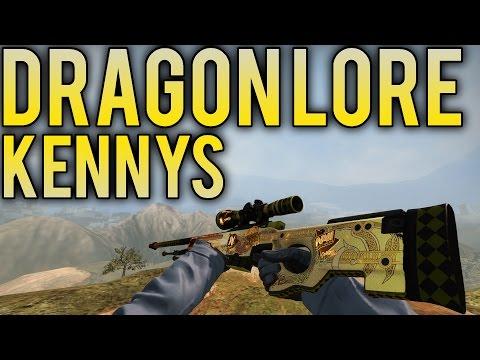 CSGO: AWP DRAGON LORE SOUVENIR KENNYS FACTORY NEW!!!!