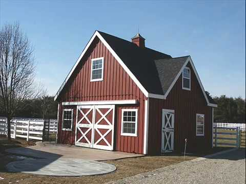 Keystone Horse Barns Amp Pole Barns Youtube