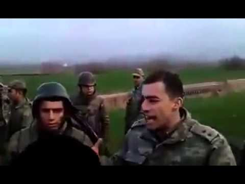 Askere Kimlik Soran Pkk'lıyı Yumruk Manyağı Yapan Üsteğmen