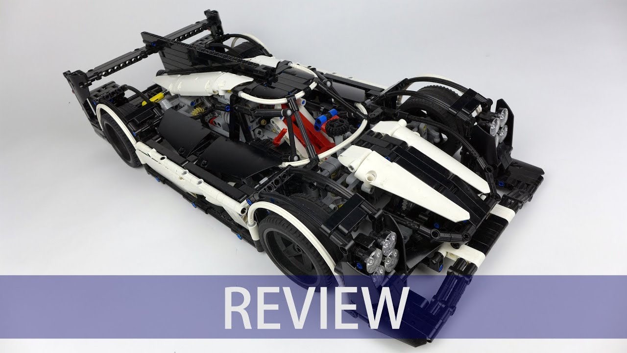 lego technic porsche 919 hybrid by charbel review youtube. Black Bedroom Furniture Sets. Home Design Ideas