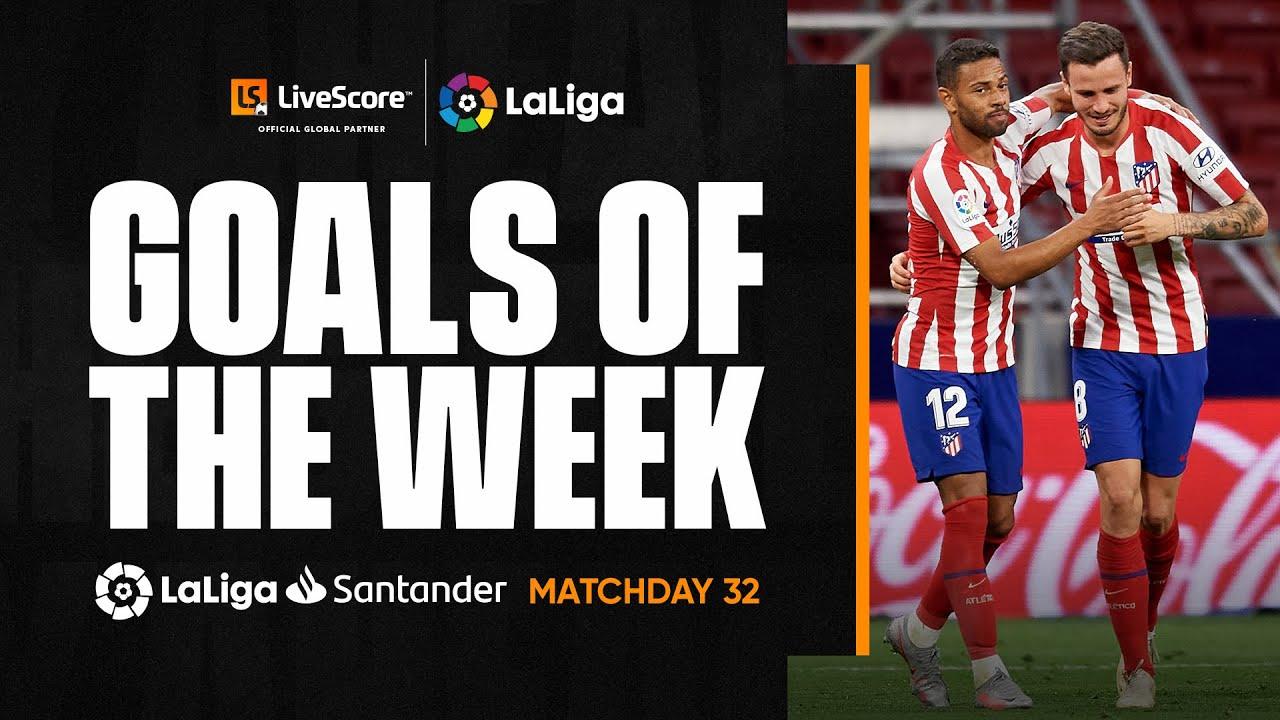 Goals of the Week: Bullet header from Saúl Ñíguez MD32