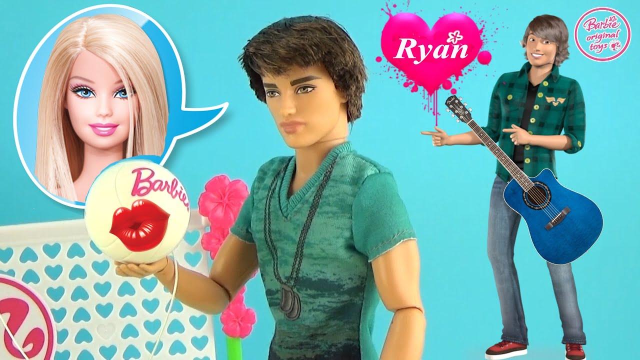 Мультфильм с куклами Барби. Подарок от Кена Дом мечты. Видео для детей 25