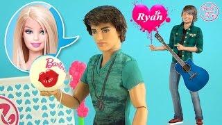 Кукла Кен - Райан. Обзор и распаковка игрушки Барби Barbie Fashionistas Ryan Ken Doll