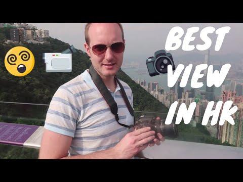 Victoria Peak AMAZING Photography 360 Viewpoint Hong Kong 2018 - Travel Diary part 8