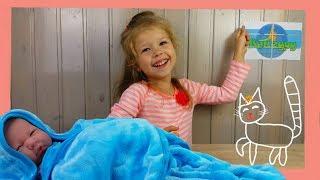 Спальник для новорожденного (спальник-человечек кокон махровый) голубой