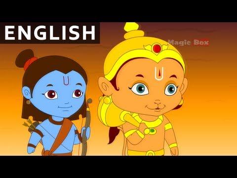 Hanuman Saves Lakshmana - Hanuman In English - Animation / Cartoon Stories For Kids