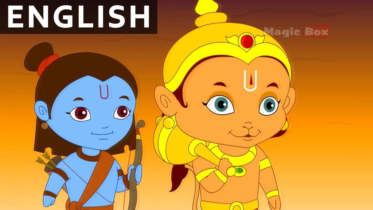 Hanuman Saves Lakshmana Return Of Hanuman In English Hd Animation Bedtime Cartoon Youtube