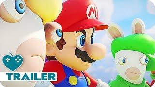 MARIO & RABBIDS: KINGDOM BATTLE Trailer (2017) Nintendo Switch Game   E3 2017