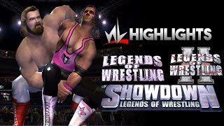 nL Highlights - The LEGENDS OF WRESTLING Series! (LOW1, LOW2, & SHOWDOWN)