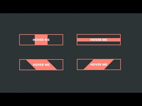 CSS Buttons With Awesome Hover Animation Using HTML & CSS | CSS Animation Effect Buttons thumbnail