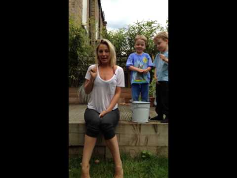 Anastasia Griffith  Ice Bucket Challenge