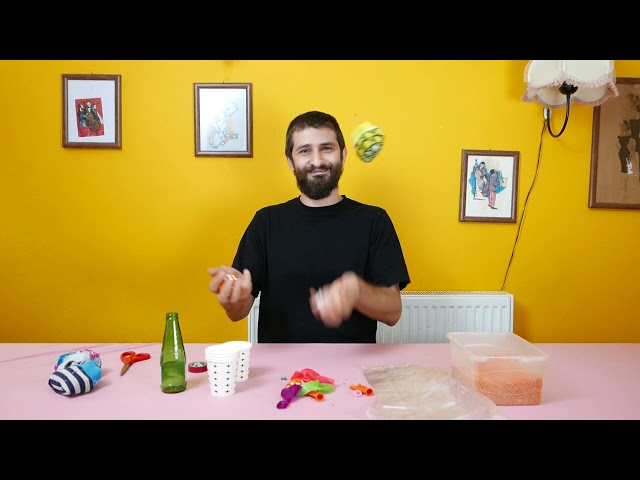 Jonglörlük 1: Top Yapımı ve Tek Top Denge