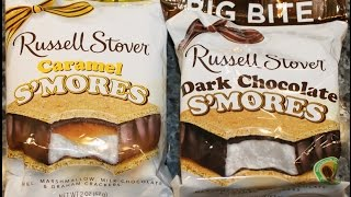 Russell Stover: Caramel S'mores & Dark Chocolate S'mores Review