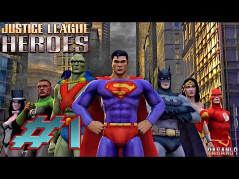 Justice League Heroes PSP Walkthrough Part 1