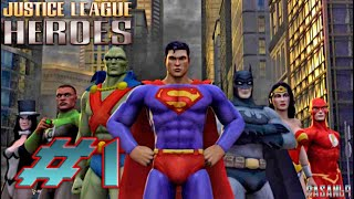 Justice League Heroes (PSP) walkthrough part 1(Episode 1 (1/3) 02:29 - City Streets 05:54 - Financial District 10:55 - Above the City 13:35 - Entrance to S.T.A.R Labs Follow me on Twitter: ..., 2013-09-27T06:12:39.000Z)