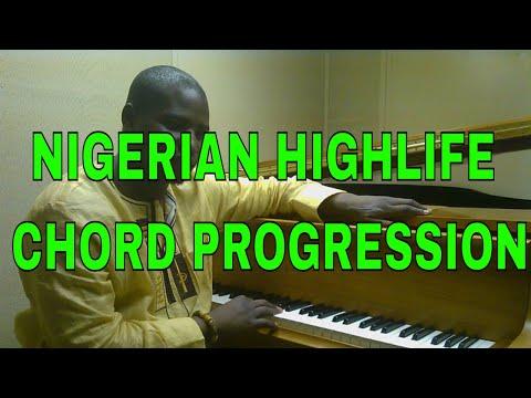 Classic Nigerian Highlife chord progression ( Rex lawson chord changes)