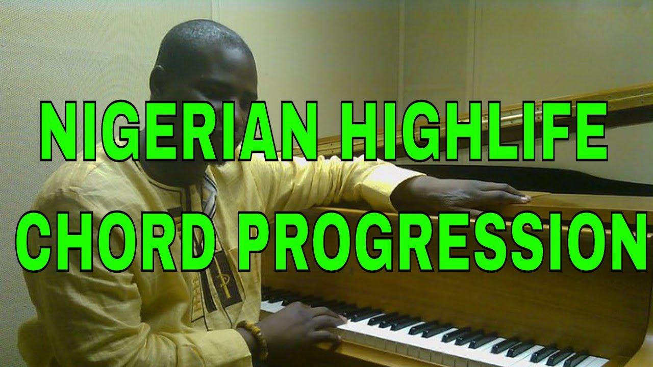 Download Classic Nigerian Highlife chord progression ( Rex lawson chord changes)
