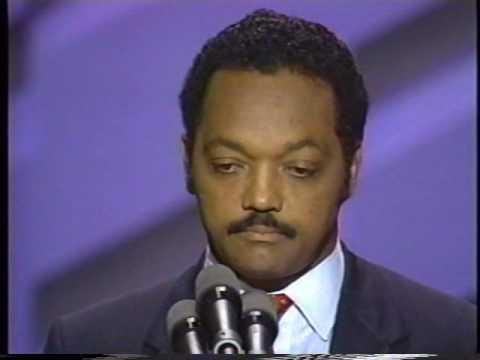 Jesse Jackson Speech to 1988 Convention Pt. 3