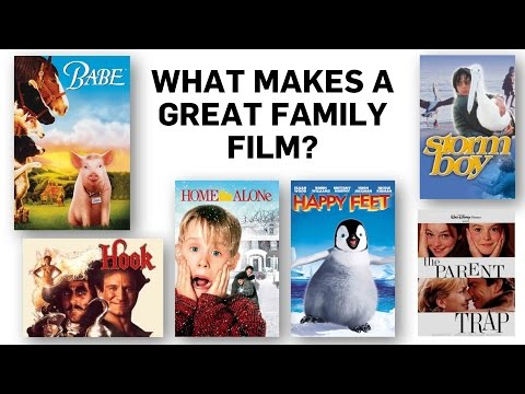 2) Family Film Forum: What Makes a Great Family Film?