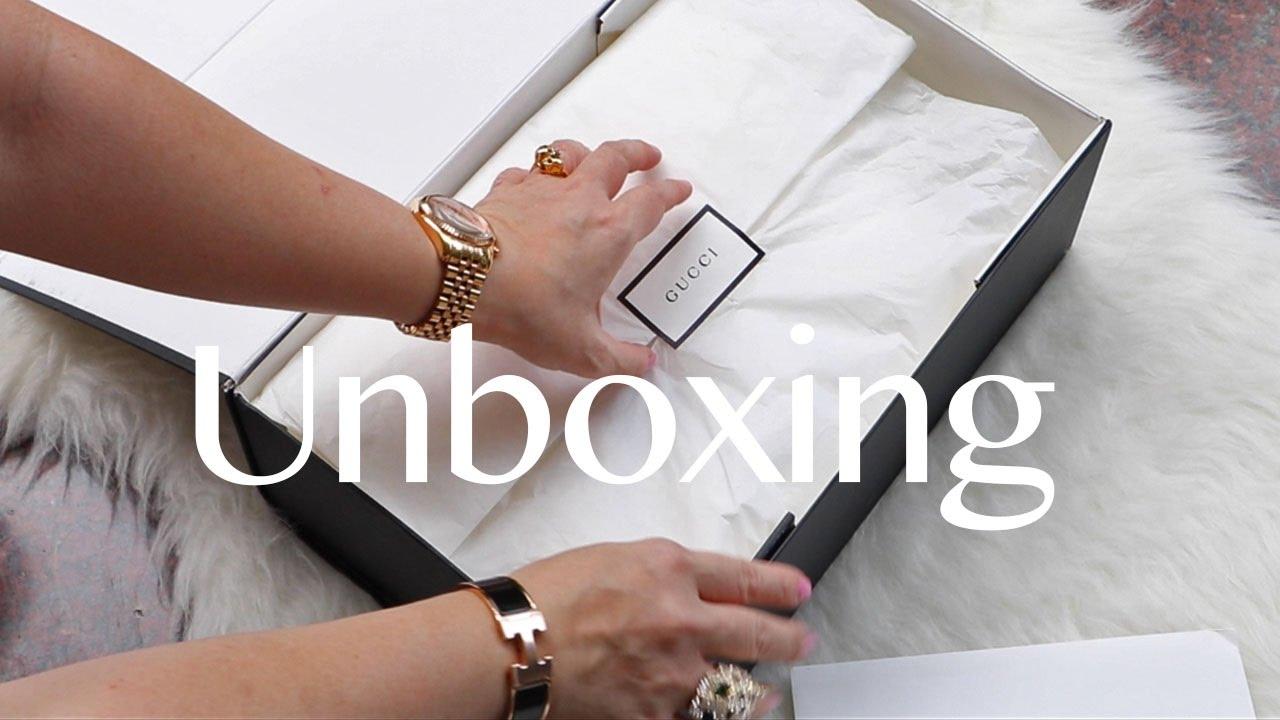 304eea96227 GUCCI BAG UNBOXING