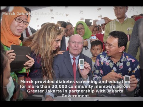 Merck Jakarta Diabetes Day. Every Day is a Diabetes  Day.