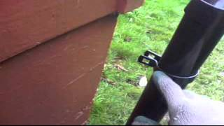 Fence Video On How To Install A Puppy Saver For Chain Link Fence