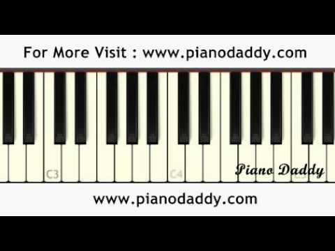 Rootha Kyun (1920 London) Piano Tutorial ~ Piano...