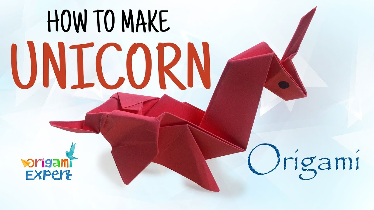 how to make origami unicorn origami unicorn easy paper