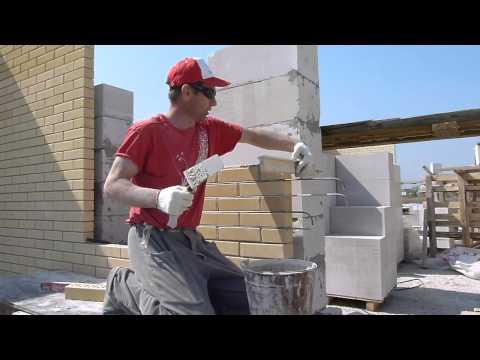 видео: кладка кирпича.как сделать простенок 2-3 кирпича в стене без причалки.nivok111