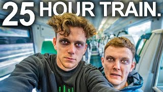 We took the longest train ride in the UK (it was hell)