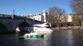 The Boat Crashes to the Richmond Bridge Part 2