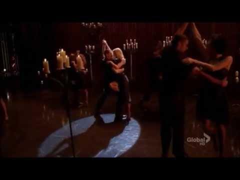 Glee-Kiss (full performance)