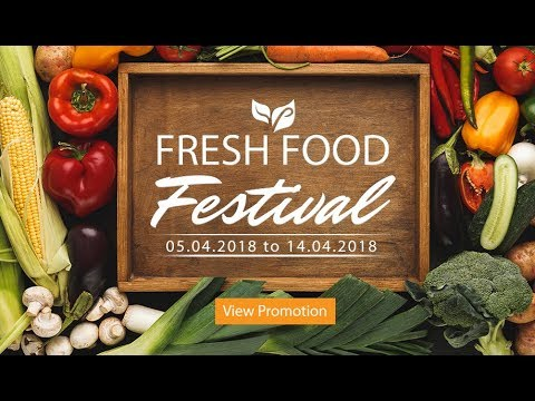 Fresh Food Festival - April
