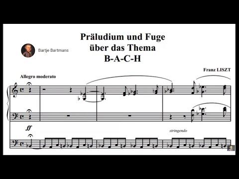Franz Liszt - Präludium und Fuge über den Namen BACH, S 260