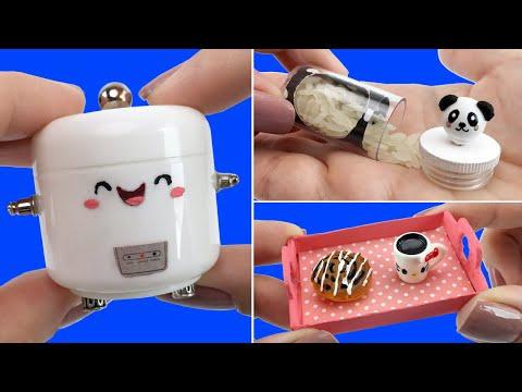 3 Easy Kawaii Things to make for Barbie Doll - DIY Miniature