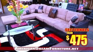 AMERICAN DREAM FURNITURE  -  3601 NW 54h ST  Miami FL 33142  - 305-635-1610