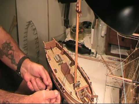 How to Build a Model Ship (HM Cutter Mermaid)