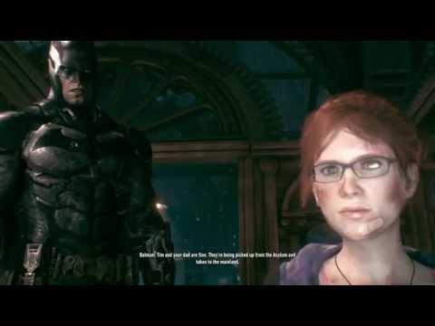 Batman: Arkham Knight Batman and Barbara Aftermath