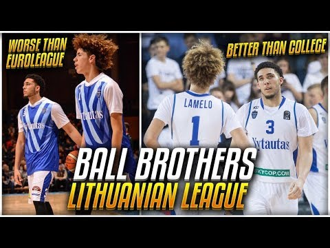 How GOOD Is The BALL BROTHERS Competition In Lithuania ACTUALLY?