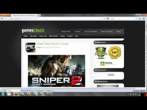 Sniper Ghost Warrior 2 Crack - Tutorial